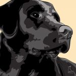 Canvas Print LABRADOR RETRIEVER GOLD
